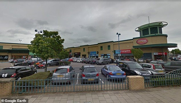 Parking nightmare: This car park in Basildon has been subject to two protests and more than 5,000 people signing up to a fightback group on Facebook