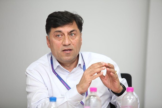 Reckitt boss Rakesh Kapoor (above) said today that he will stand down by the end of 2019