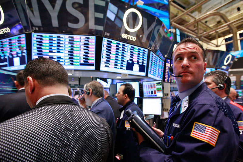 U.S. shares mixed at close of trade; Dow Jones Industrial Average down 1.39%