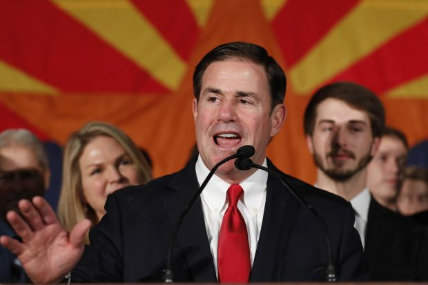 Arizona Gov. Doug Ducey.