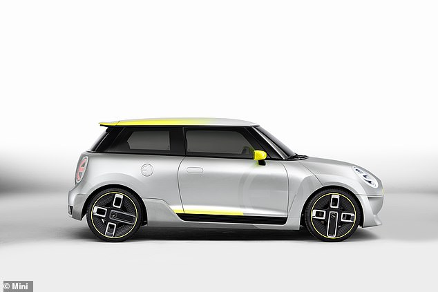 Mini also showed this Electric Concept at last year's Goodwood Festival of Speed as it geared up for the production cars arrival