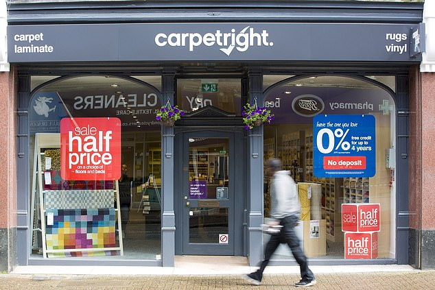 Carpetright has come under stiff competition from an aggressive new entrant - Tapi Carpets
