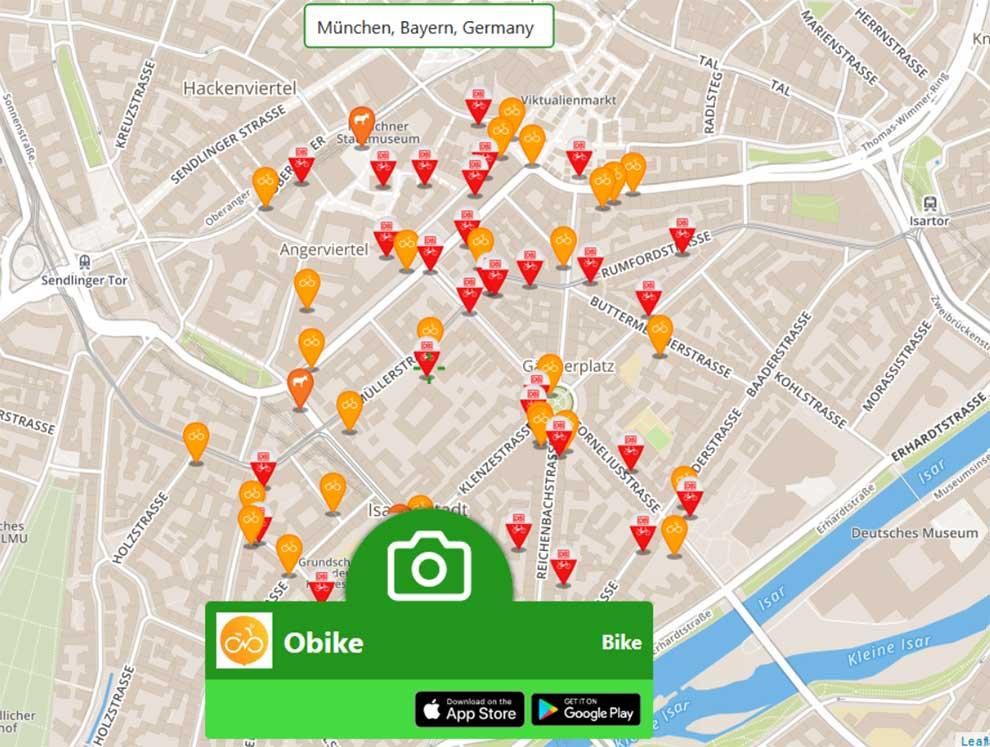 Create apps for booking shared bikes and other vehicles with Multicycles API