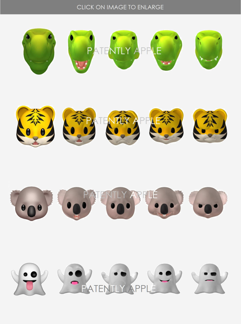 3 YYYY -- APPLE GRANTED DESIGN PATENTS  ANIMOJI  PATENTLY APPLE IP REPORT JUNE 15  2019