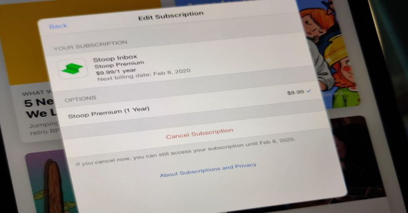 Cancel subscriptions on your iPhone or iPad.