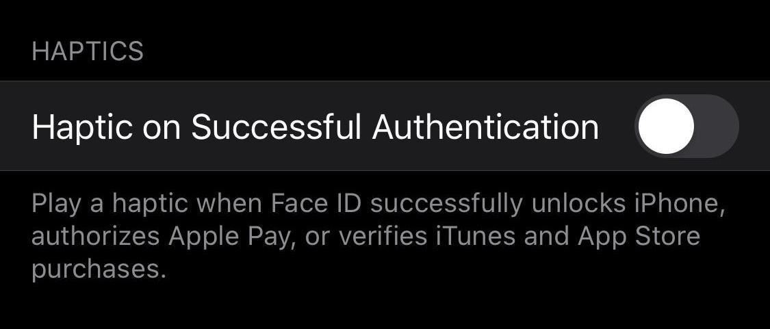 Apple's Adding Haptic Feedback When Unlocking Your iPhone with Face ID