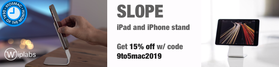 Slope iPhone and iPad stand