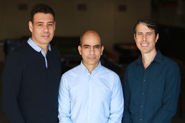 Yuval Yifrach, Shachar Baryamin, Eran Dror. Photo: PR