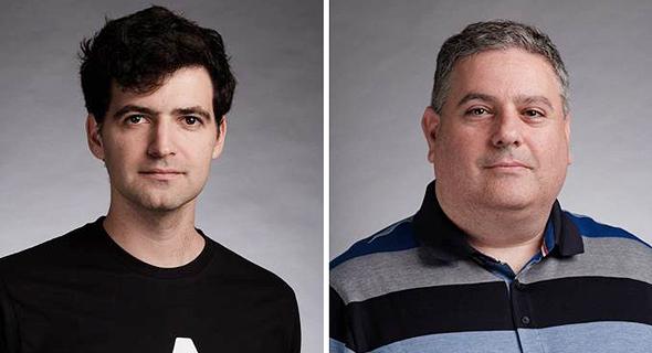 Atidot's Roy Perlson and Dror Katzav. Photo: PR