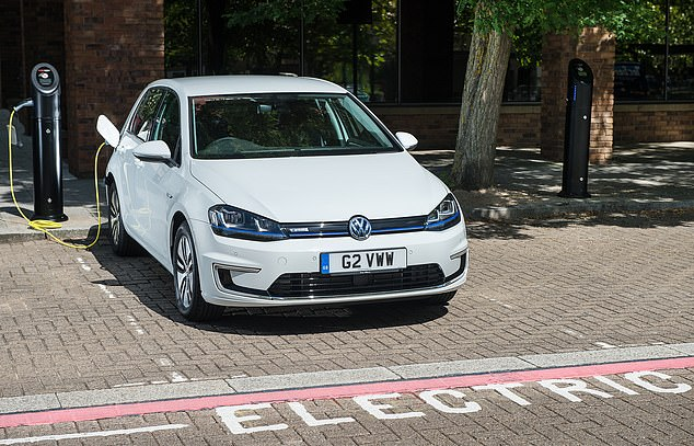 Electric car sales are due to boom in the new few years as the current range of models (like the VW e-Golf pictured) are replaced with new cars with longer ranges, more performance and shorter charging times