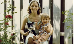 Angela Burling, who 'almost mechanically' drowned her second son in the bath, with her daughter Allyson