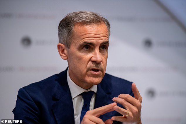 Criticism: Mark Carney, Governor of the Bank of England, is not a muse of Dr Savvas Savouri