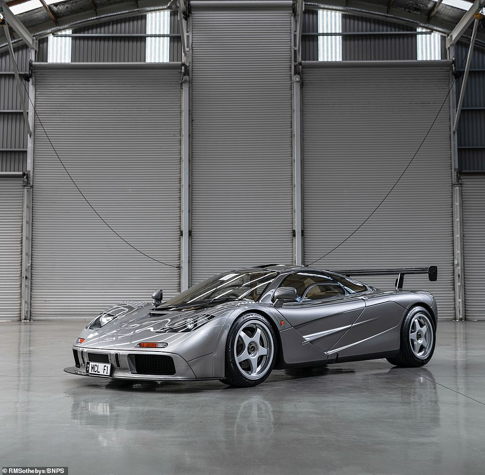 The McLaren is now the third most expensive British-built car to go under the hammer in history