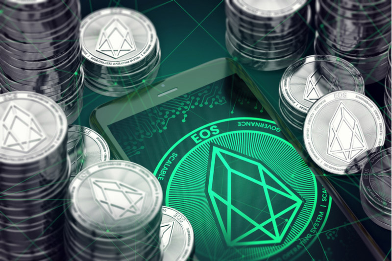 EOS Climbs Above 3.8953 Level, Up 2.33%