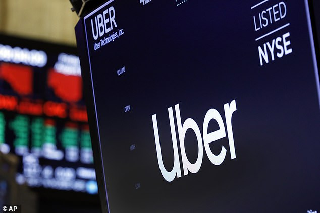 Uber reported a record loss of £4.3billion in the second quarter