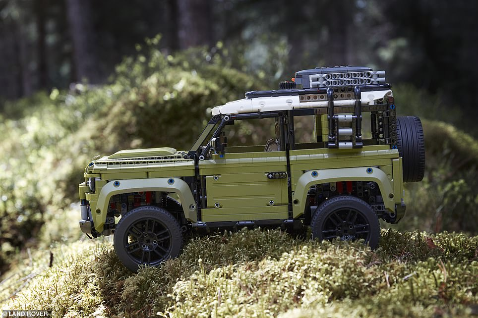 The Lego Defender will cost from - a reported - £159.99