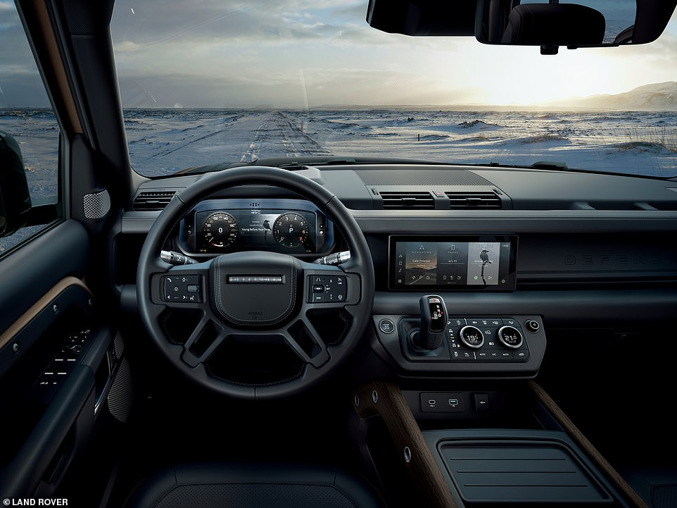 State of the art 'cyber security' built into the new Defender's system is promised to deter thieves, according to Land Rover