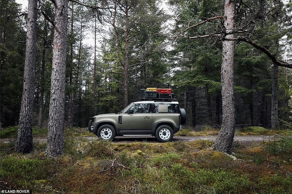 The new Defender has been subject to 62,000 different tests over 744,000 miles in some of the world's harshest climates from 50-degree desert heat to minus 40 degree Baltic conditions to ensure it is ready for every eventuality