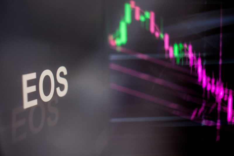 EOS Climbs Above 3.7832 Level, Up 8%
