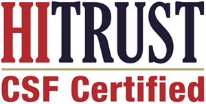 Health Information Trust Alliance (HITRUST) Common Security Framework (CSF) Certified Status