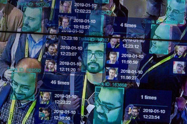 (FILES) In this file photo taken on January 10, 2019, a live demonstration uses artificial intelligence and facial recognition in dense crowd spatial-temporal technology at the Horizon Robotics exhibit at the Las Vegas Convention Center during CES 2019 in Las Vegas. - A ban on facial recognition for law enforcement in San Francisco highlights growing public concerns about technology which is seeing stunning growth for an array of applications while provoking worries over privacy. All but one of the nine members of San Francisco's board of supervisors endorsed the legislation on May 14, 2019,, which will be voted on again next week in a procedural step. (Photo by DAVID MCNEW / AFP)DAVID MCNEW/AFP/Getty Images