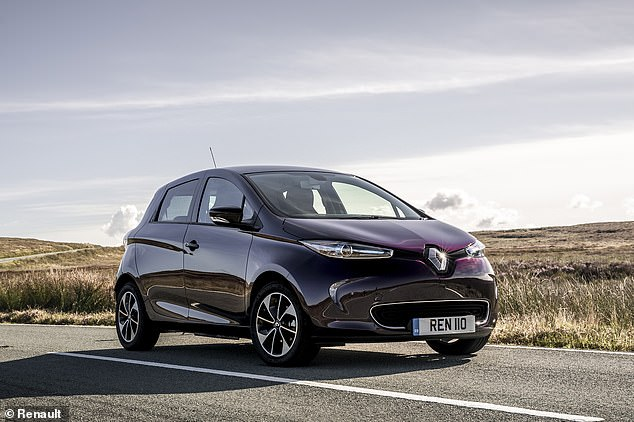 Hybrid and electric cars were recognised for the first time in What Car?'s used awards. The Renault Zone (pictured) took the accolade for the best pure electric second-hand model