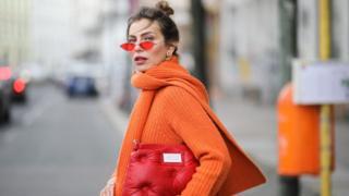 Model in Asos clothing