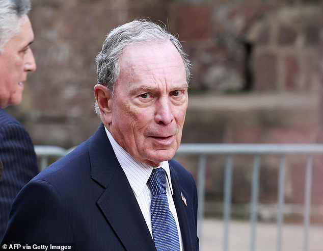 Hopes:In the US, Democrats fearful that Leftist presidential candidate Elizabeth Warren may lack voter appeal are turning to 77-year-old billionaire Michael Bloomberg