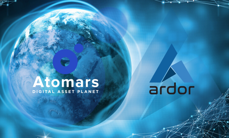 Cryptocurrency Exchange Atomars Announces Listing of Ardor (ARDR)