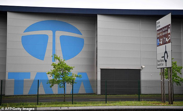 Job cuts: Tata employs 4,000 people in the Port Talbot steel plant in Wales, its biggest site, with 8,400 people across England and Wales