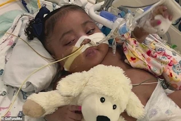 Tinslee Lewis has never left the hospital where she was born premature in the nine months of her life and has been sustained by a ventilator and feeding tube. Herfamily wants to keep giving the little girl a chance to fight, but Cook Children's Medical Center says she's suffering