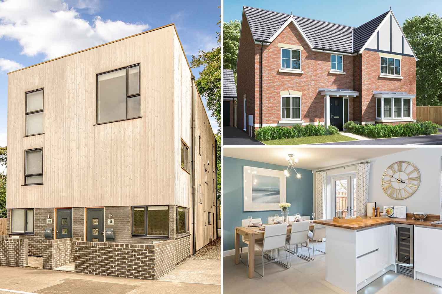 There are an array of homes available for first-time buyers with a 5 per cent deposit