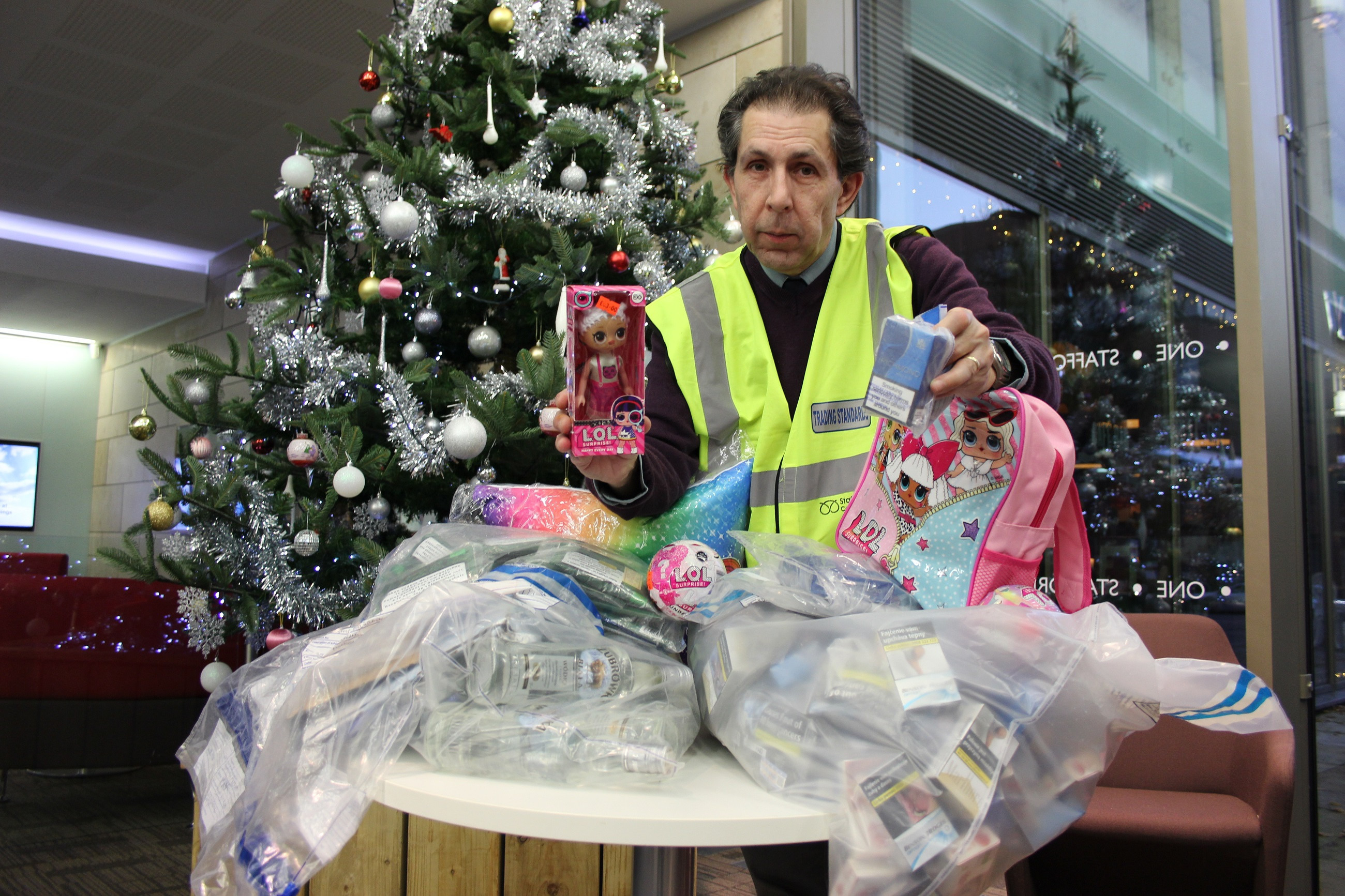 Staffordshire County Council's Trading Standards recently seize fake LOL! Surprise Dolls