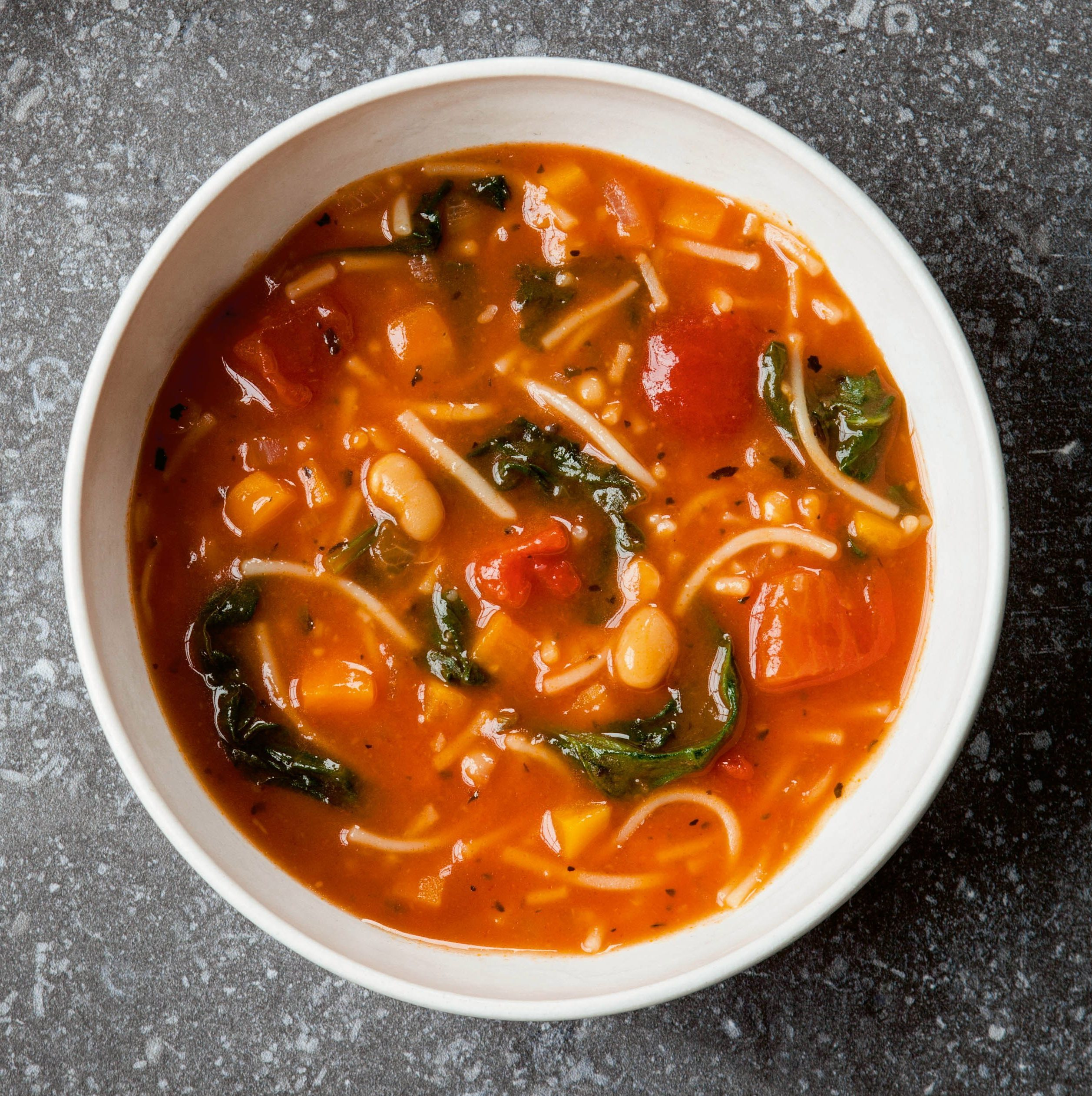 To better enjoy your Minestrone have it with part-baked bread