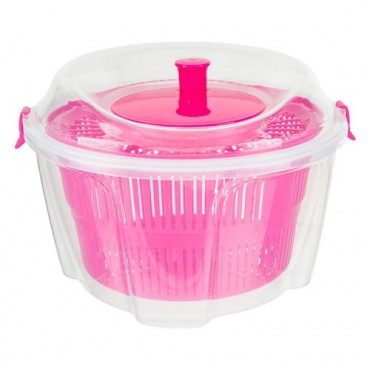 Poundland's near-identical pink salad spinner is just £2 - so save yourself £18