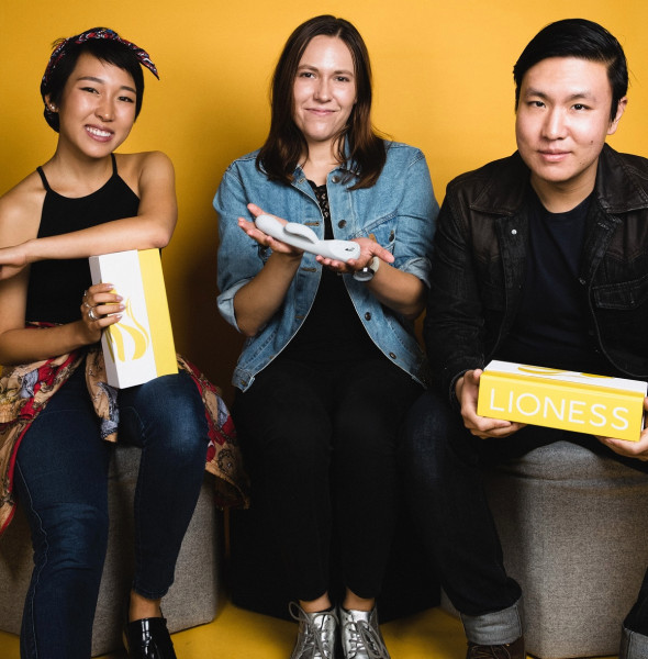Anna Lee (left), Liz Klinger, and James