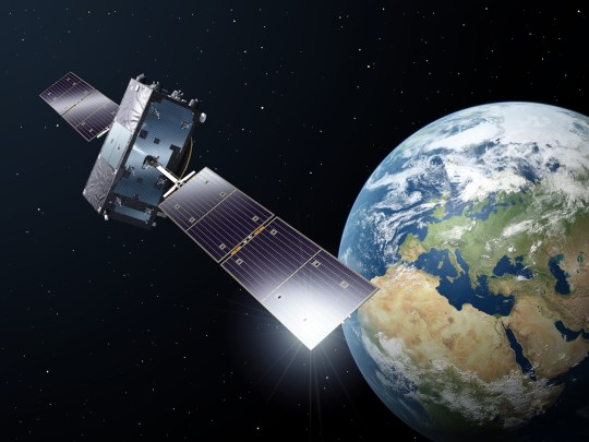 Future conflicts are likely to involve space warfare (Credit: Getty/ESA)