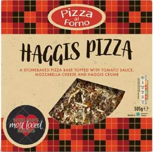 Co-op's haggis pizza deal is down to £4 and comes with a six pack of Irn Bru