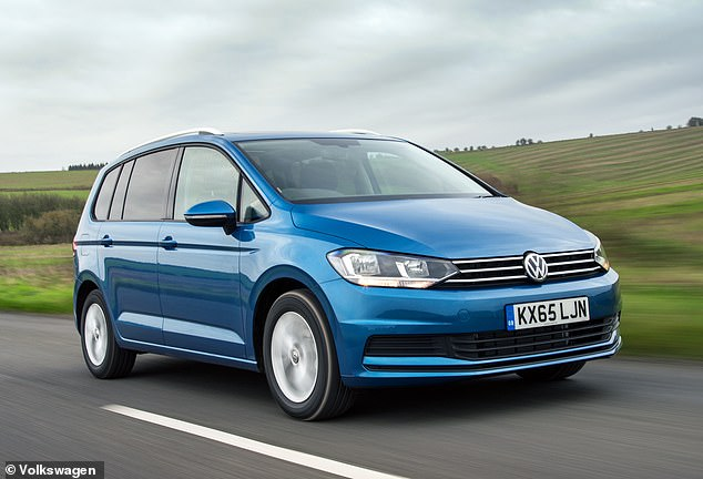 The Sharan is one of many large MPVs to feature in this list. Some 13% can't pass a first MOT test