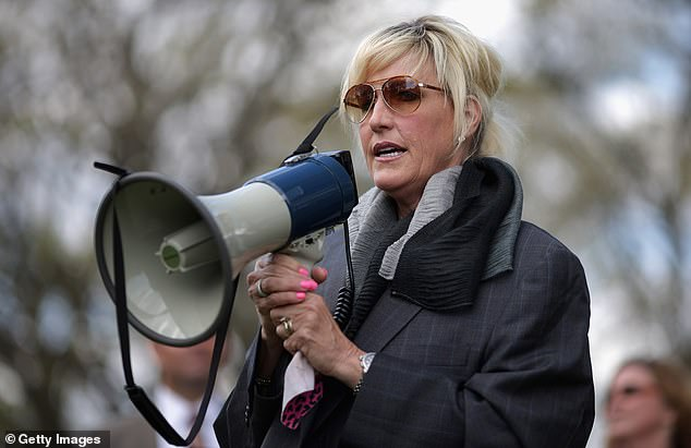 The case has attracted support from activist Erin Brockovich (pictured)