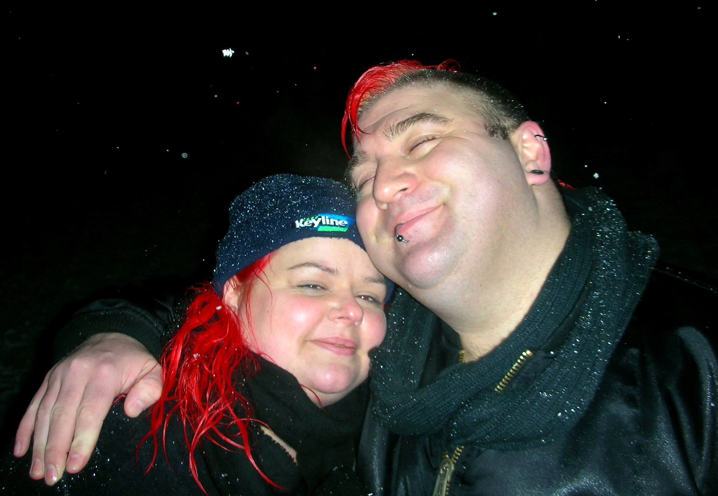 Claire Mercer's husband Jason, 44, was struck on a 'smart' stretch of the M1 near Sheffield last June