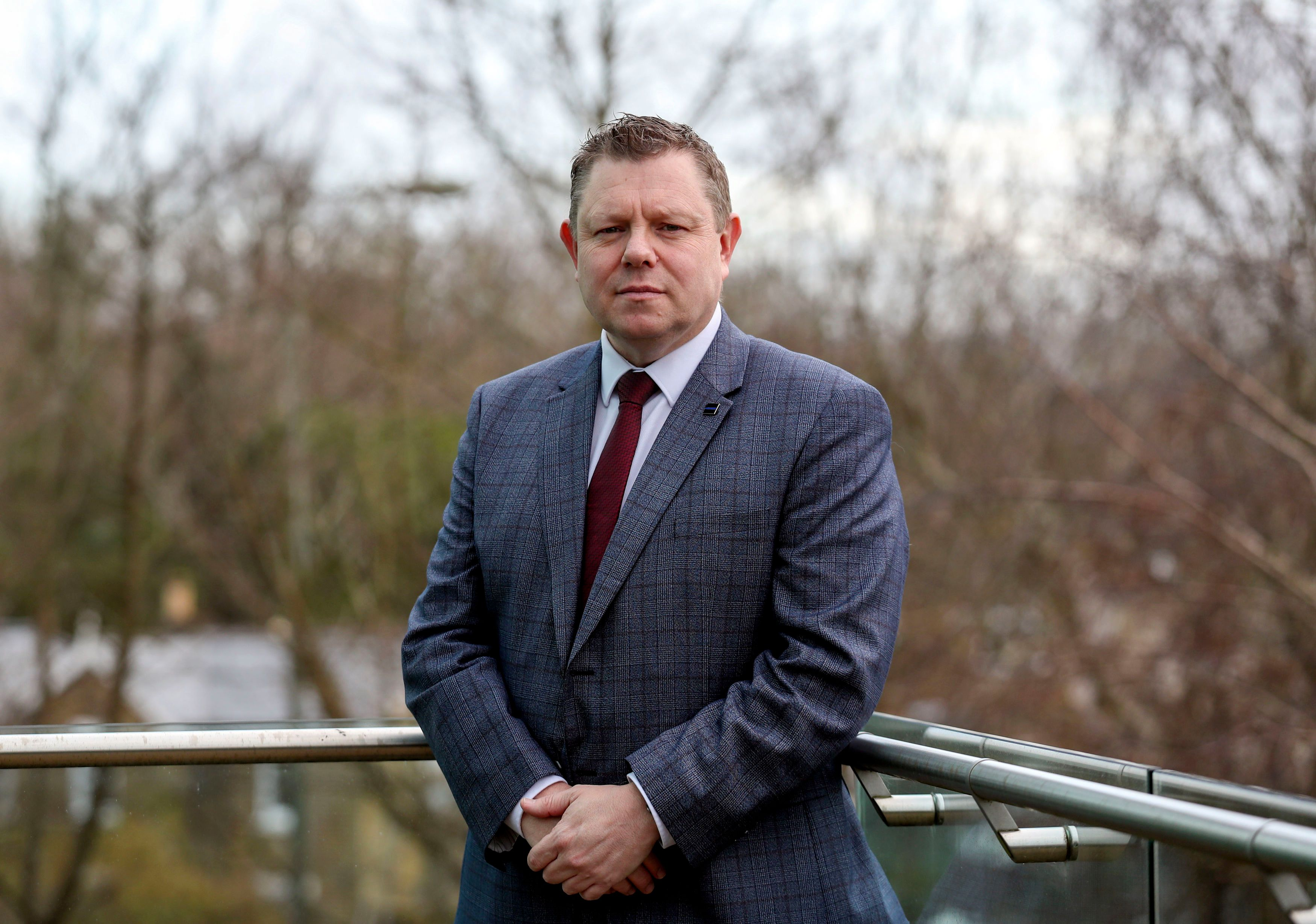 John Apter, chairman of the Police Federation, branded smart motorways a 'death trap'