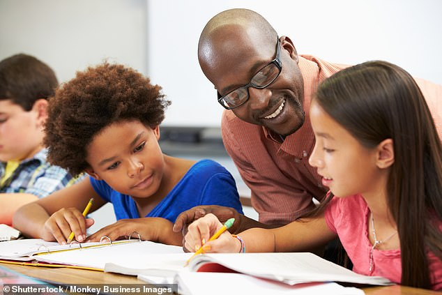 'Everyone values being praised and recognised for their endeavours — it is a huge part of nurturing children's self-esteem and confidence,' Dr Caldarella said (stock image)