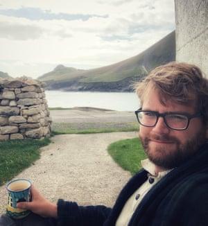 Craig Stanford on St Kilda, Scotland.