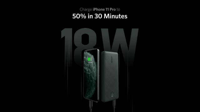 Anker PowerCore Slim 10000 in iPhone 11 Pro Green On Sale for 25% Off [Deal]