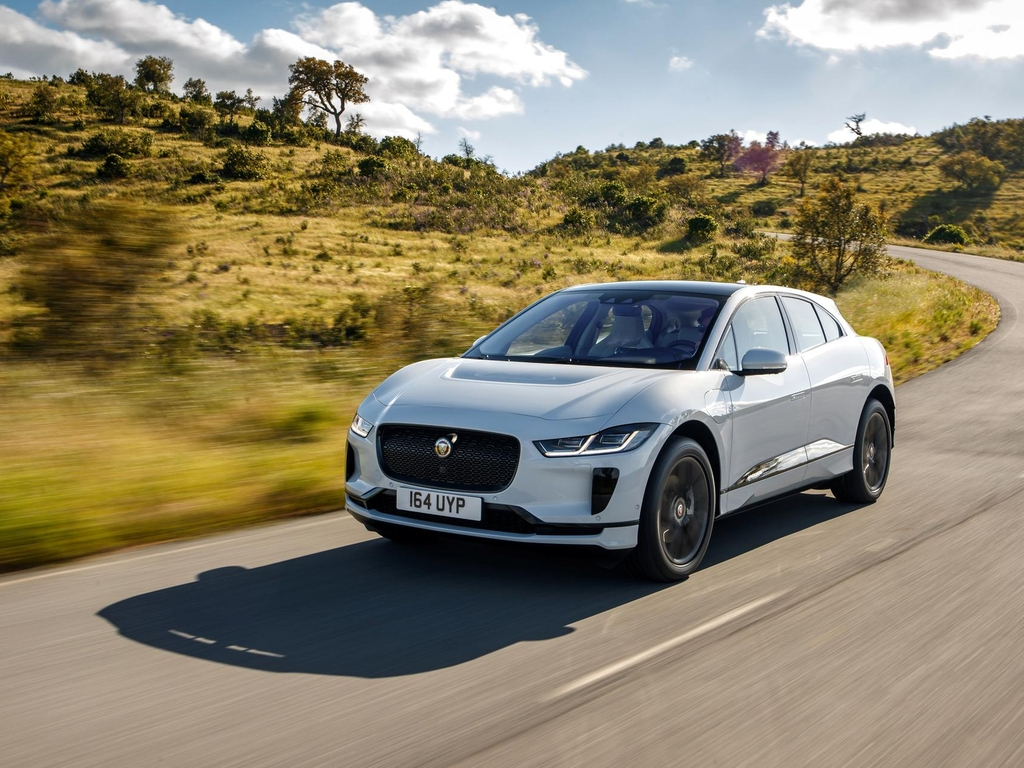 Jaguar I-PACE, the brand's first all-electric car. Courtesy Jaguar Land Rover