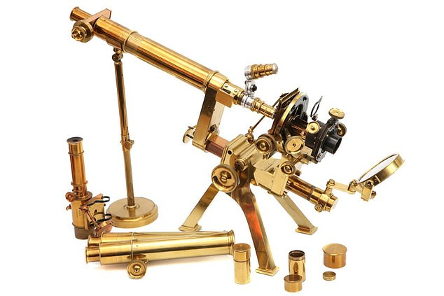 If you have a Victorian microscope gathering dust in your attic, it may be worth big money