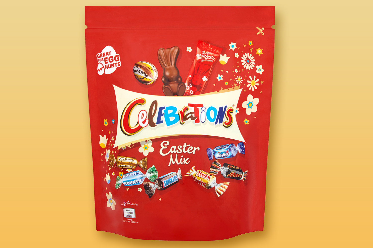You can now get your hands on a Celebrations Easter Min at Morrisons and Tesco