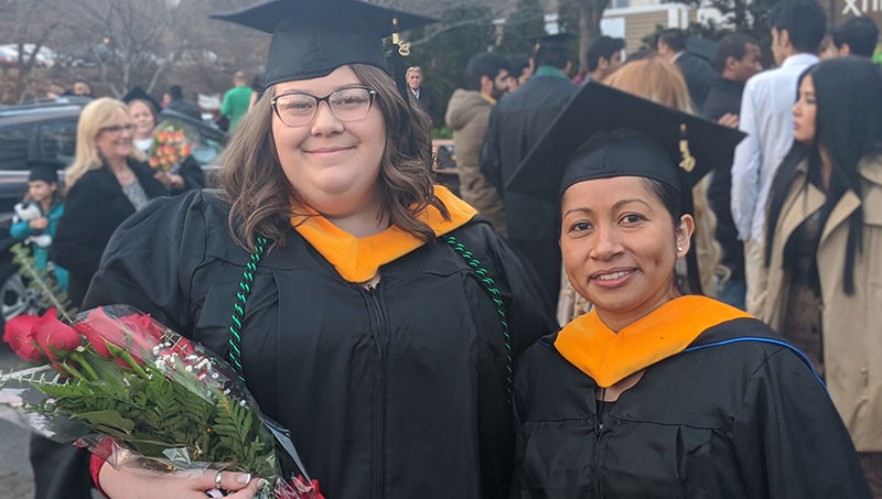 Image of Courtney Hassenfeldt and Cinthya Mendez