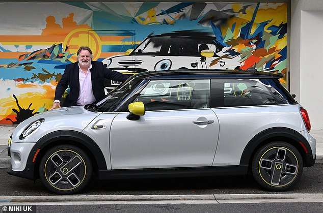 Going green: Ray Massey has been to Miami, Florida, to test the new production-ready Mini Electric before it hits UK showrooms in March